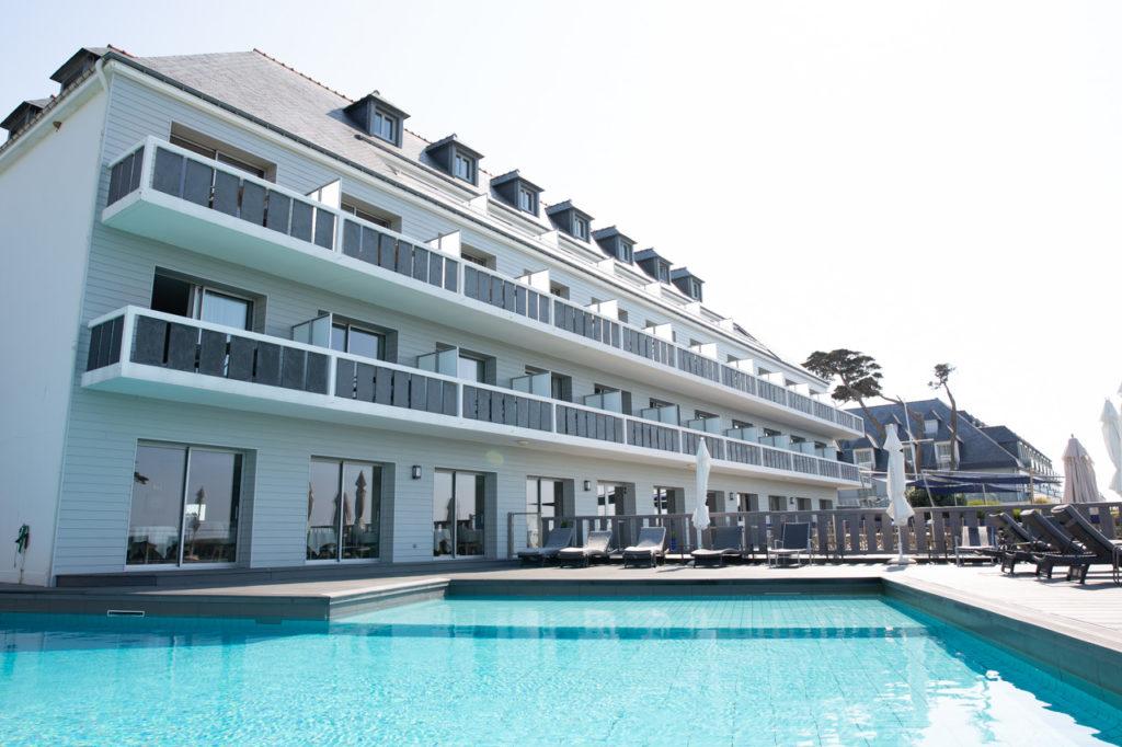 shooting photo entreprise belle ile architecture hotel