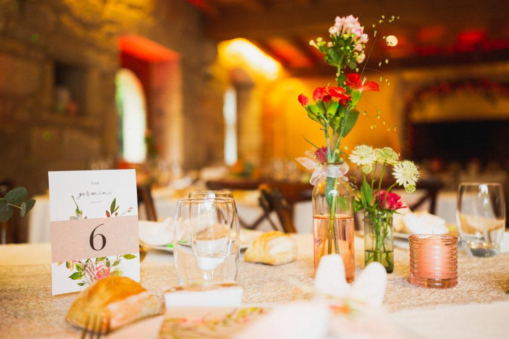 photo de repas de mariage