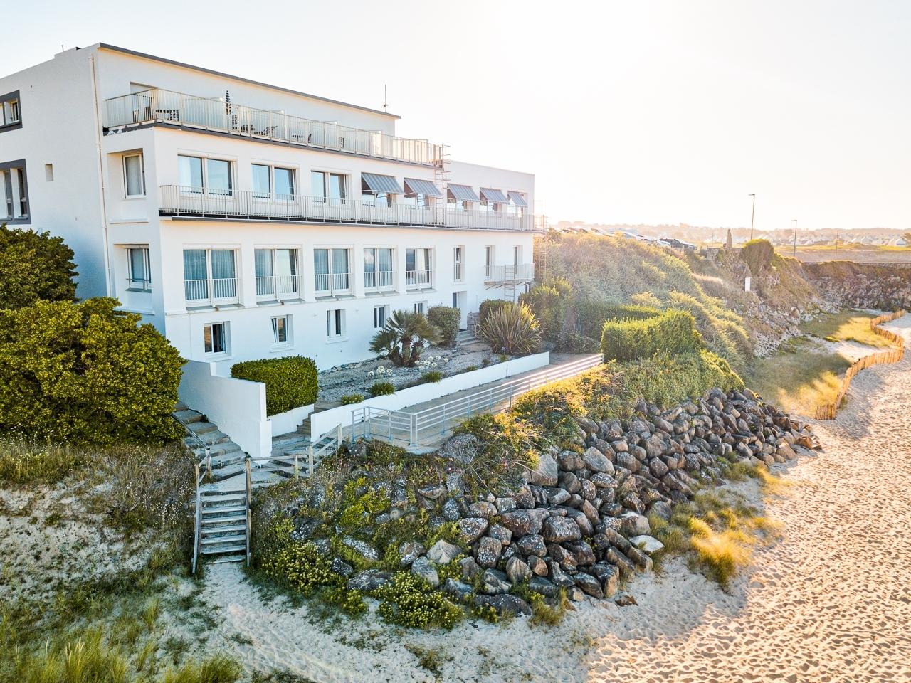 Hotel au roi Gradlon Audierne photographe entreprise à Quimper et Brest